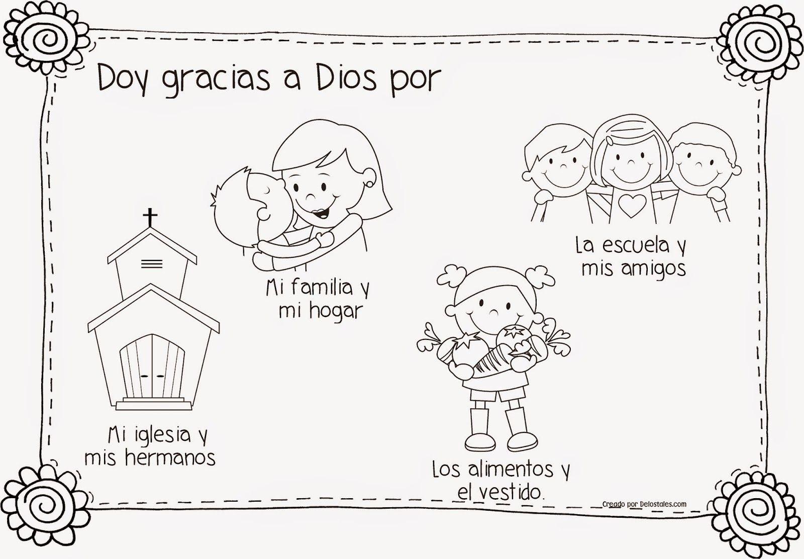 Familias Agradecidas | fichas infantil | Pinterest | Gratitud, En ...