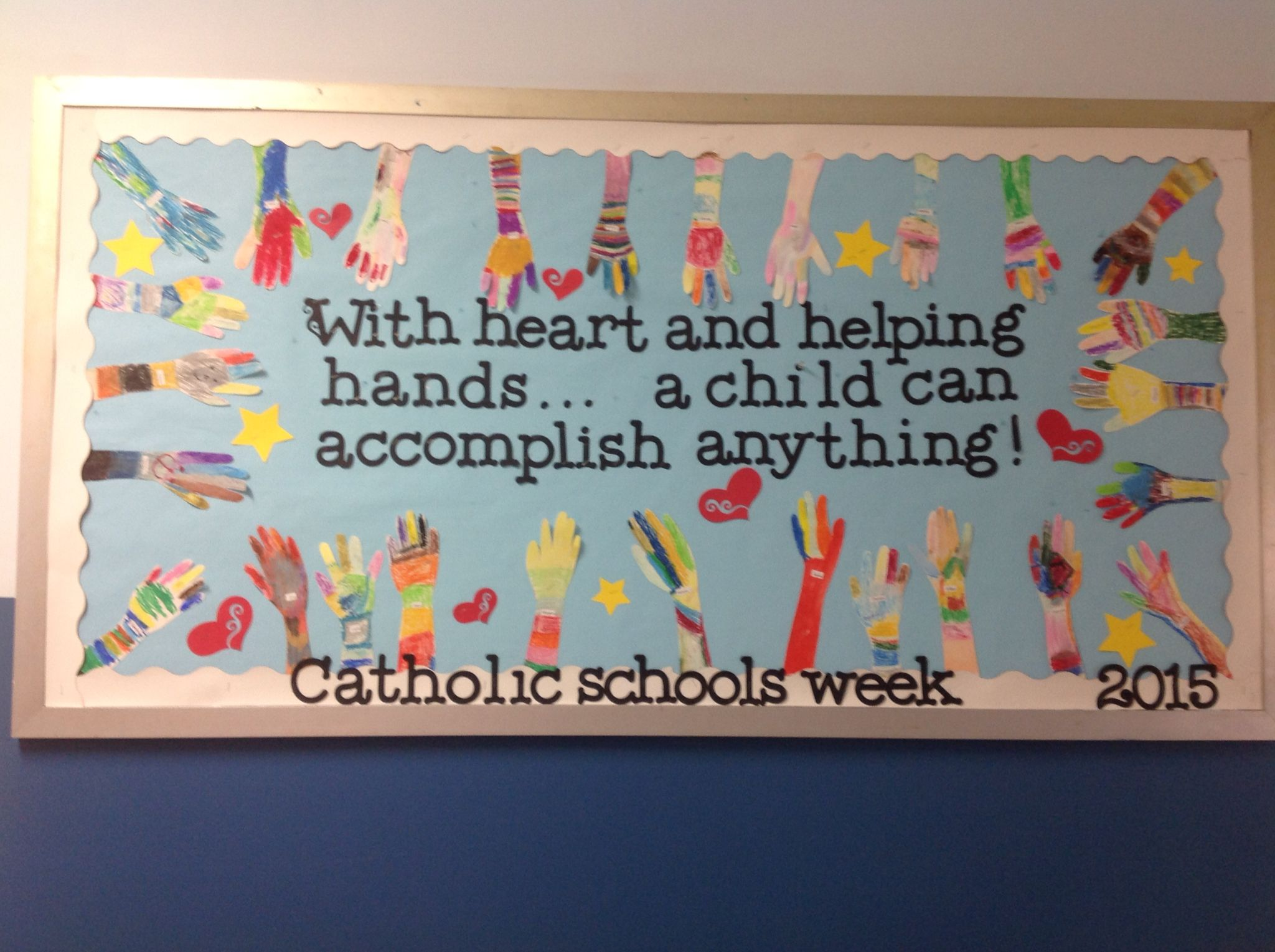 Catholic Schools Week Bulletin Board