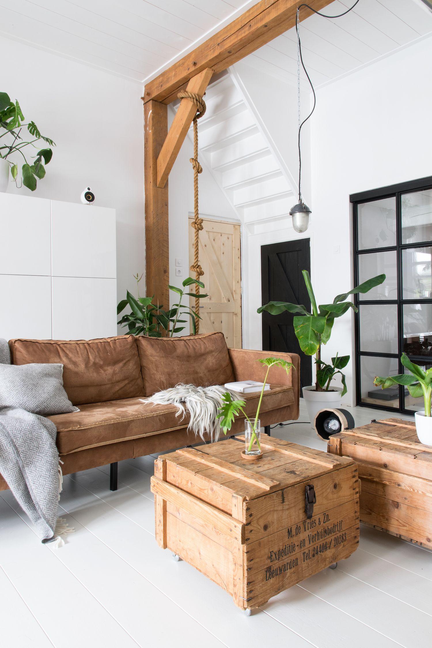 Estilo industrial en una casa nrdica  Casas  Huis