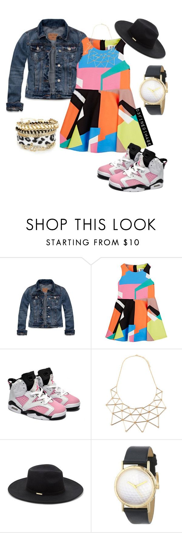 """""""Kid's Fashion"""" by d3finedimage on Polyvore featuring Hollister Co., Barneys New York, Retrò, Forever 21, Vince Camuto, Whimsical Watches, women's clothing, women's fashion, women and female"""