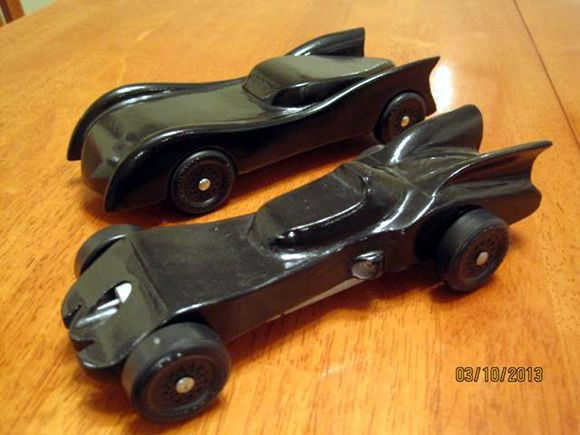 Pinewood Derby Batmobile Template Batmobile Pinewood Derby Car