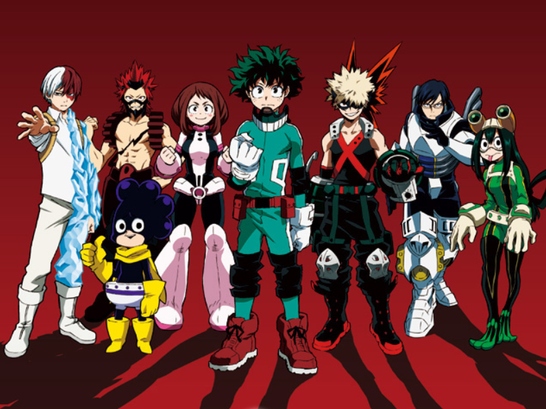 My Hero Academia Class 1 A Ranked My Hero Academia Hero Boku No Hero Academia