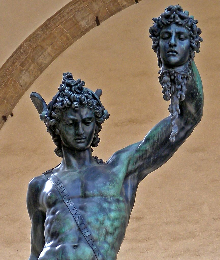 Rome | and that's where I'm at  |Perseus With The Head Of Medusa Painting