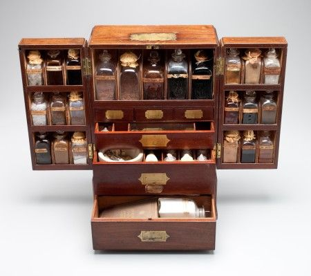 All That Ever Was Or Will Be Ships Medicine Chest England 1836 Unveiling A Herbalism Herbal Medicine Cabinet Herbal Medicine