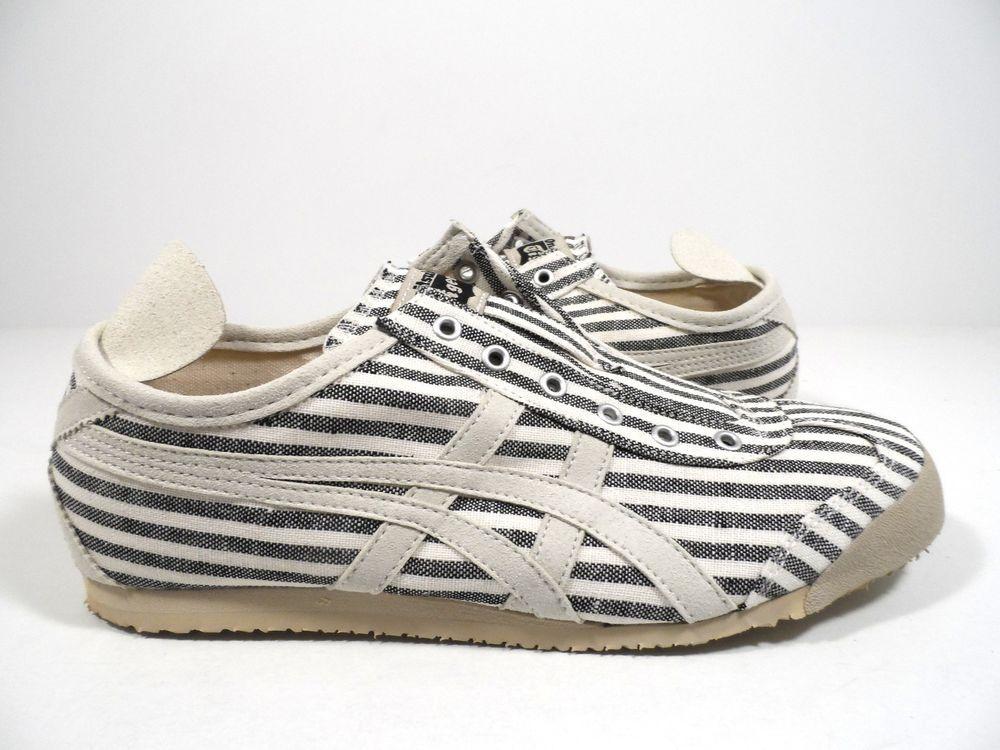 sports shoes 14ddc 86079 Onitsuka Tiger Mexico 66 Sneaker Black/Off White Size Men's ...