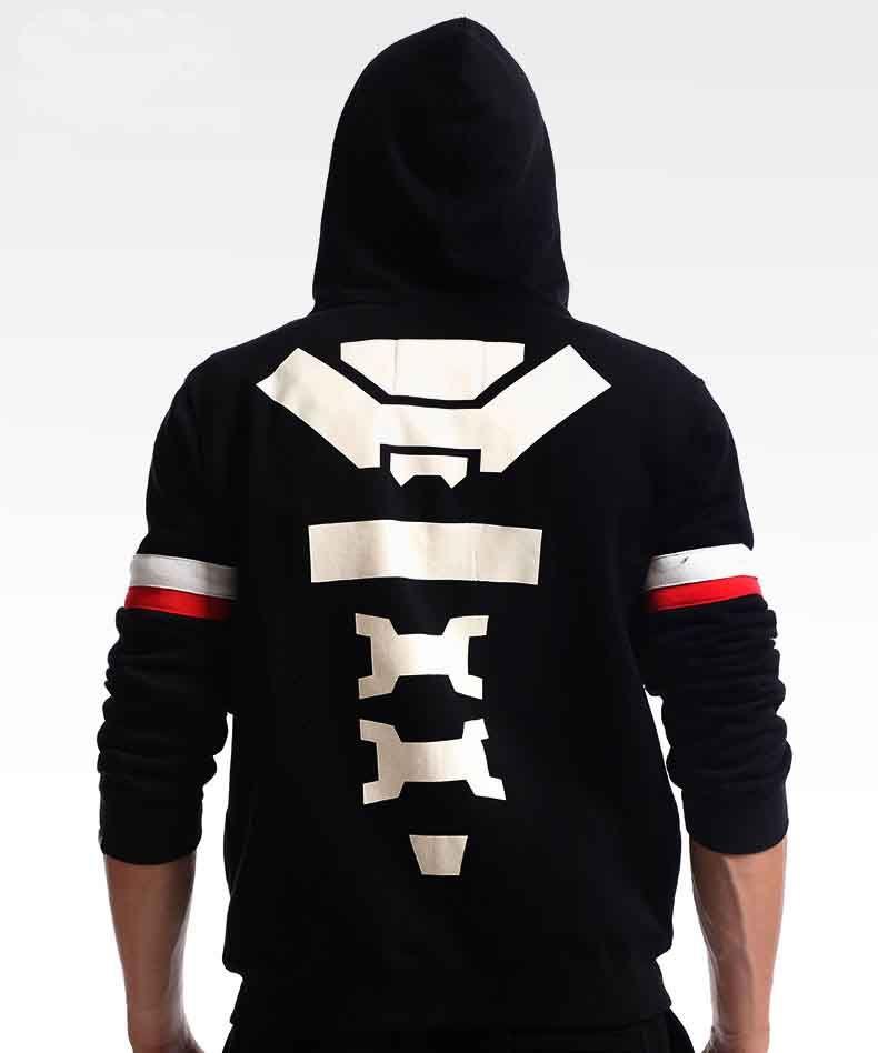 c794865f6 Overwatch Reaper Hoodies OW Game Hero Black Zip Sweatshirts for Mens ...