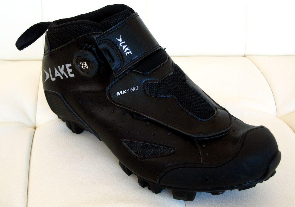 Lake MX180 Enduro Boot http://singletrackworld.com/2015/04/sea-otter-2015-lake-shoes/