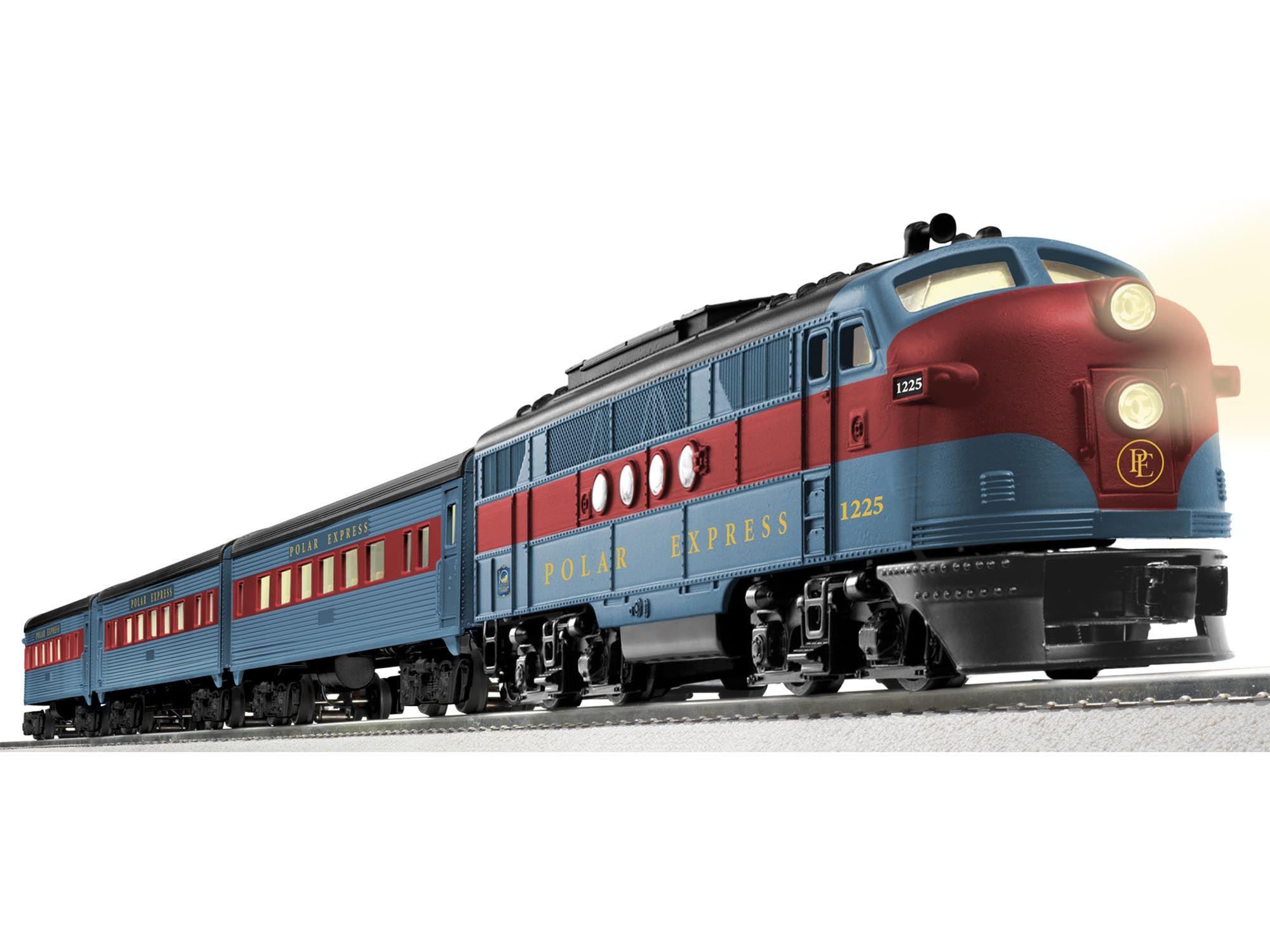 10th anniversary polar express� streamliner passenger set