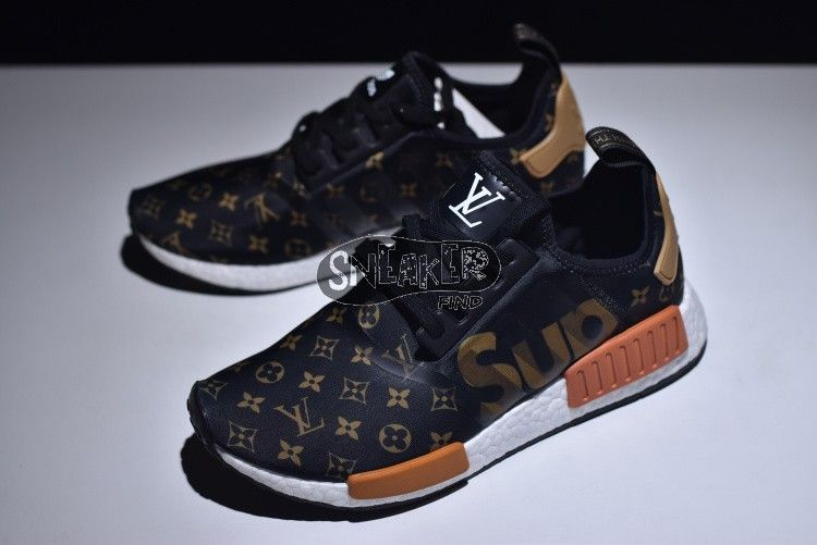48d5b819f717 Supreme x Louis Vuitton x adidas NMD R1 BY3087 Sale sneakers at amazing  price!