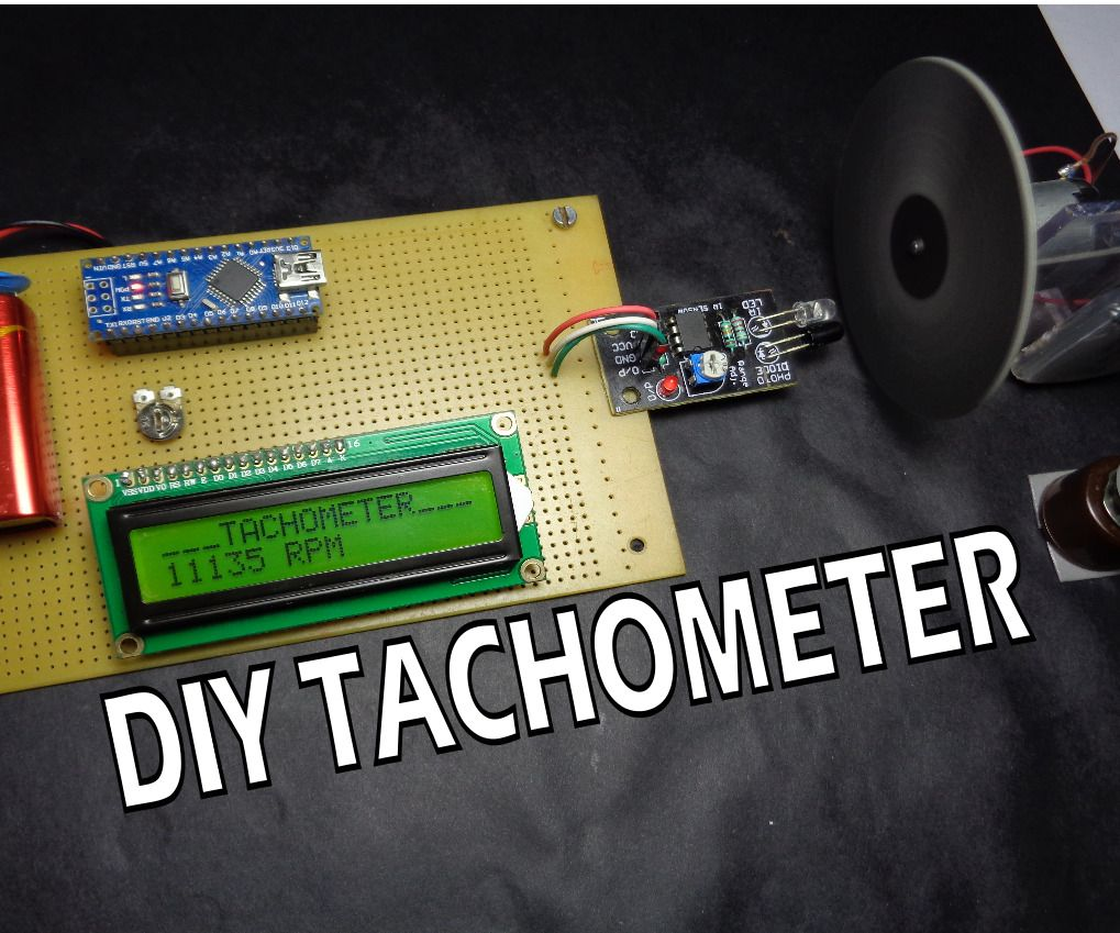 How To Make Arduino Based Digital Tachometer Simple Diy Tutorial Circuit Making Easy Circuits