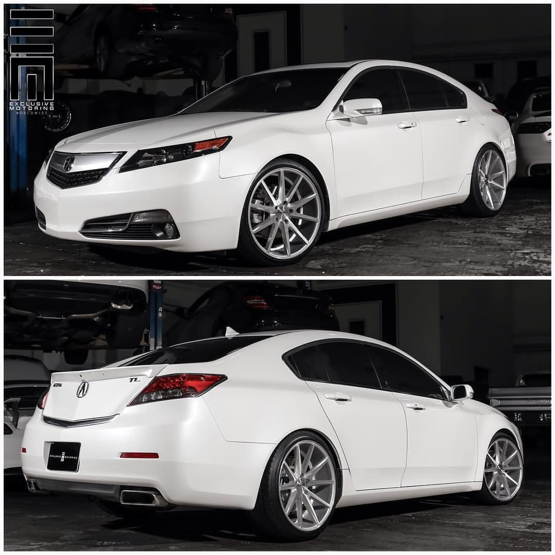 2013 Acura Rlx: Acura TL Lowered On 20 Inch Vossen VFS1 Wheels