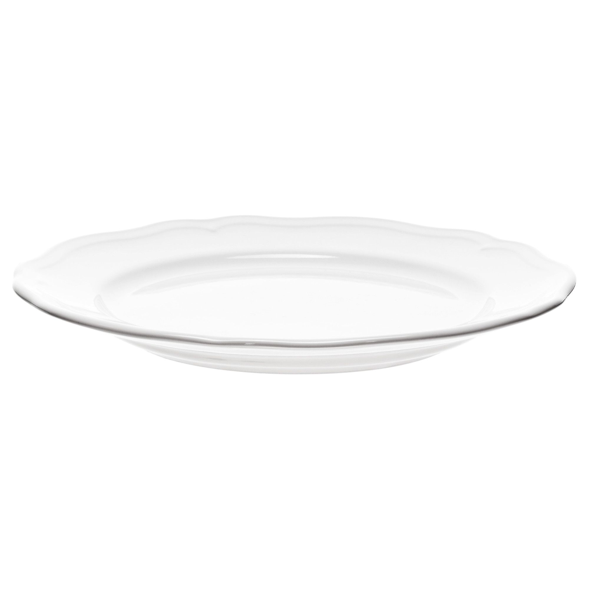 ARV Side plate, white | Side plates and House for Dinner Plate Side View  111bof