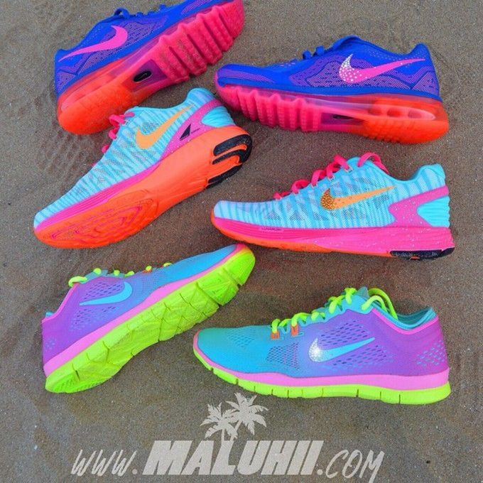 running shoes neon colors