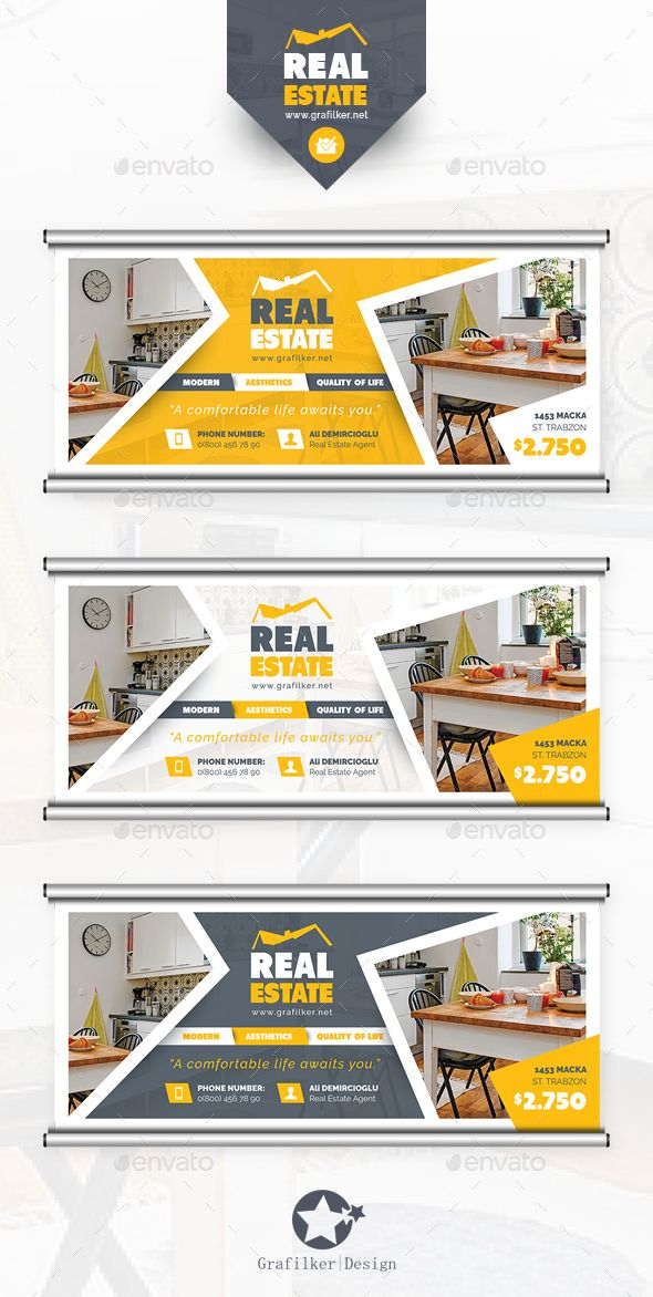 Real Estate Billboard Template Psd Indesign Indd Design Http