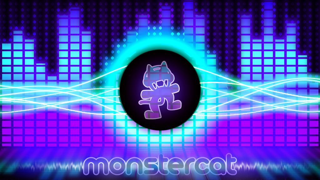 Monstercat Wallpaper Collab By Wildone94 On Deviantart Wallpaper Collab Neon Signs
