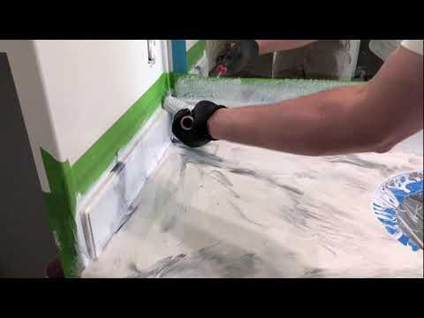 Worktop Made Of Epoxy Changer