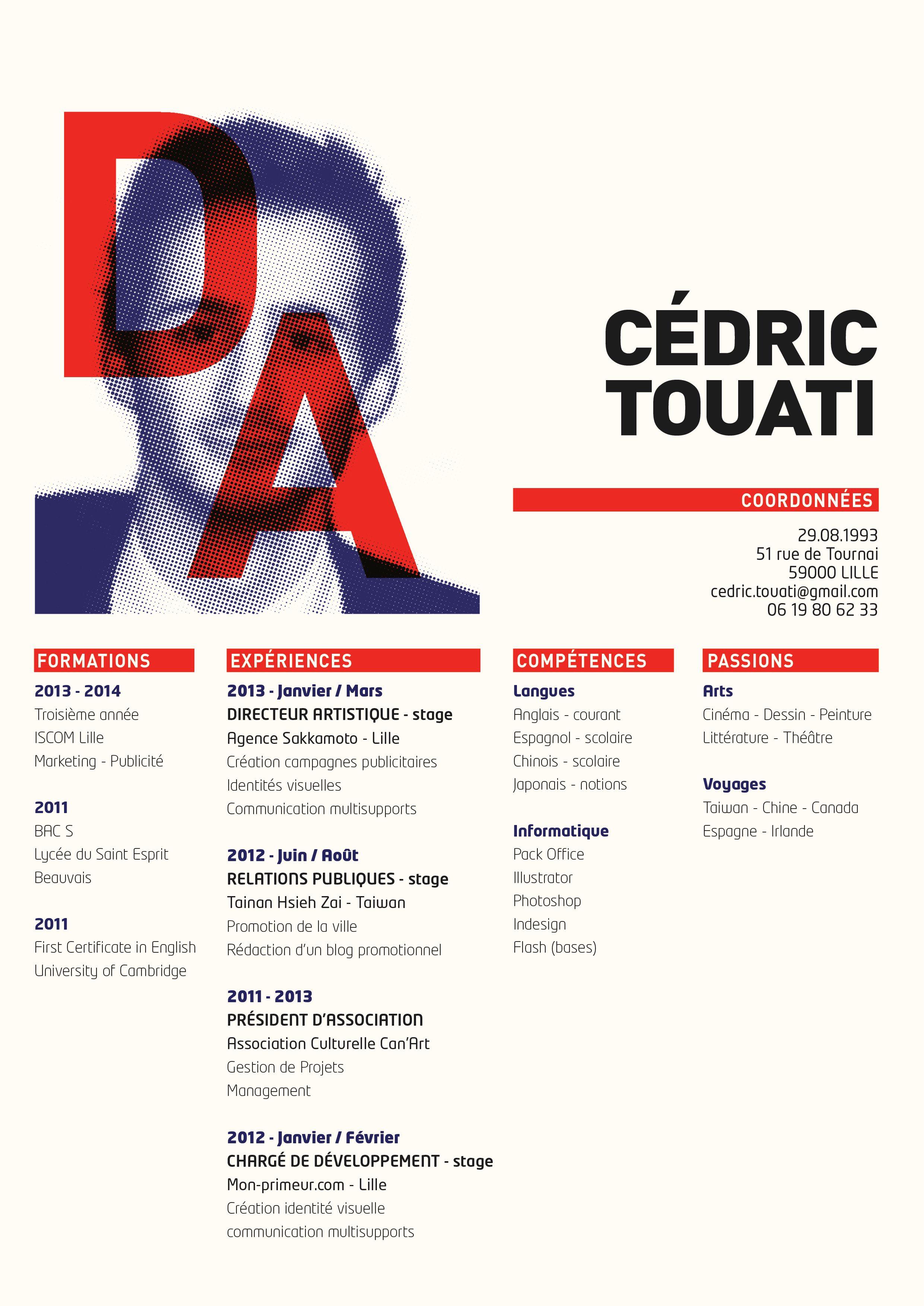 c u00e9dric touati - directeur artistique  art director