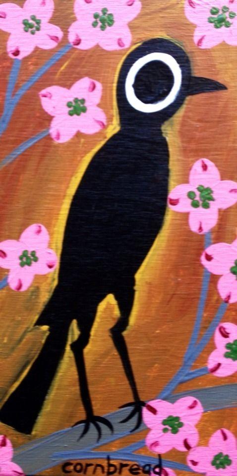 cornbread anderson georgia southern outsider folk art crow in 2018