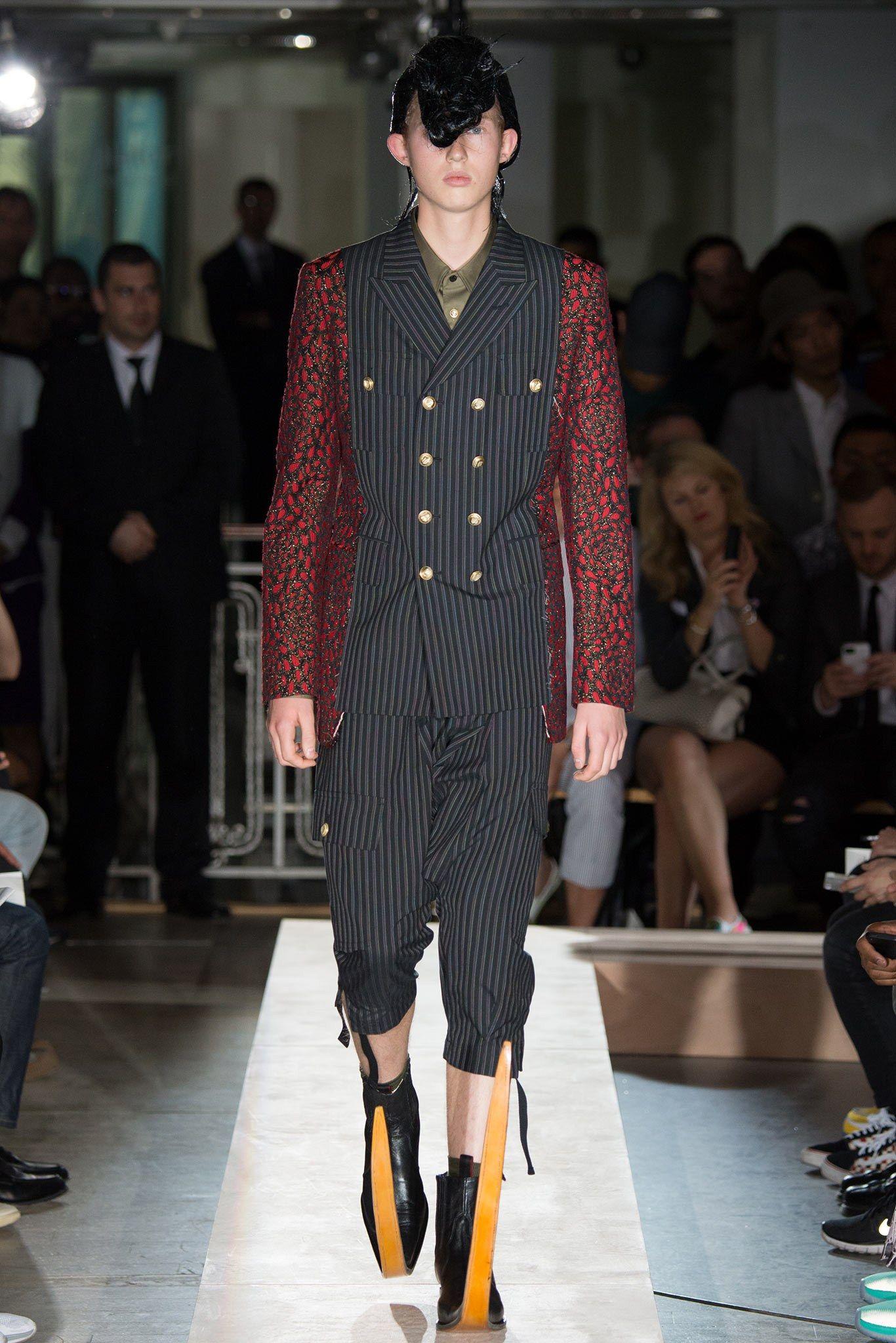 Comme des Garçons Spring 2015 Menswear Fashion Show