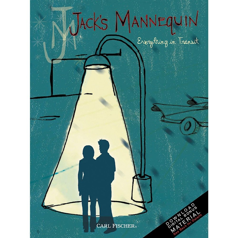 Jack S Mannequin Songbook Everything In Transit Jack S Mannequin Andrew Mcmahon Tour Posters