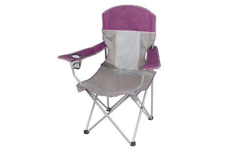 Ozark Trail Outdoor Comfort Mesh Chair Purple Mesh Chair Ozark