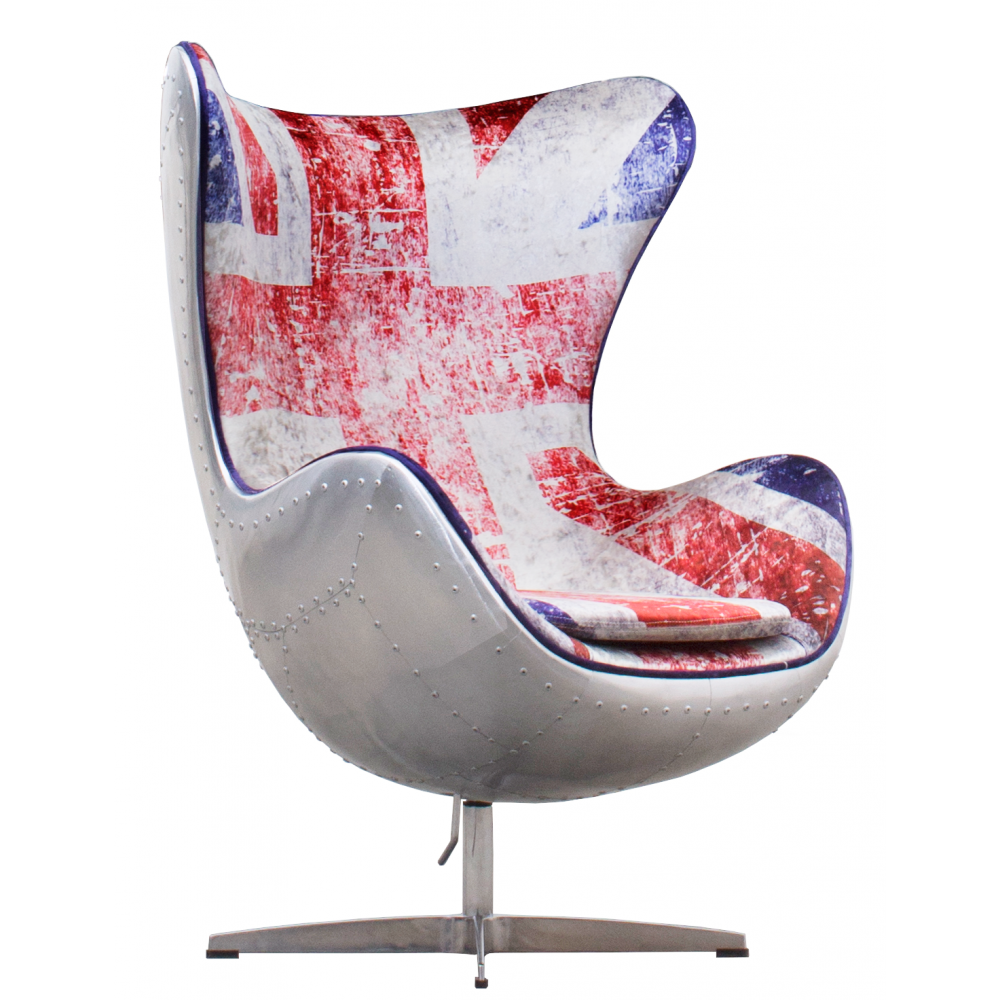 Patriotic and fun! Identical to our Egg Chair but upholstered with a ...