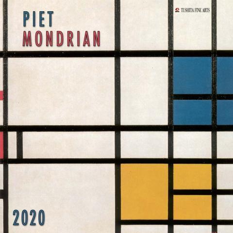 Piet Mondrian 2020 Wall Calendar Wall Calendar Piet Mondrian