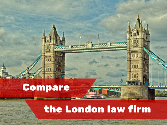 Comparing the London law firms