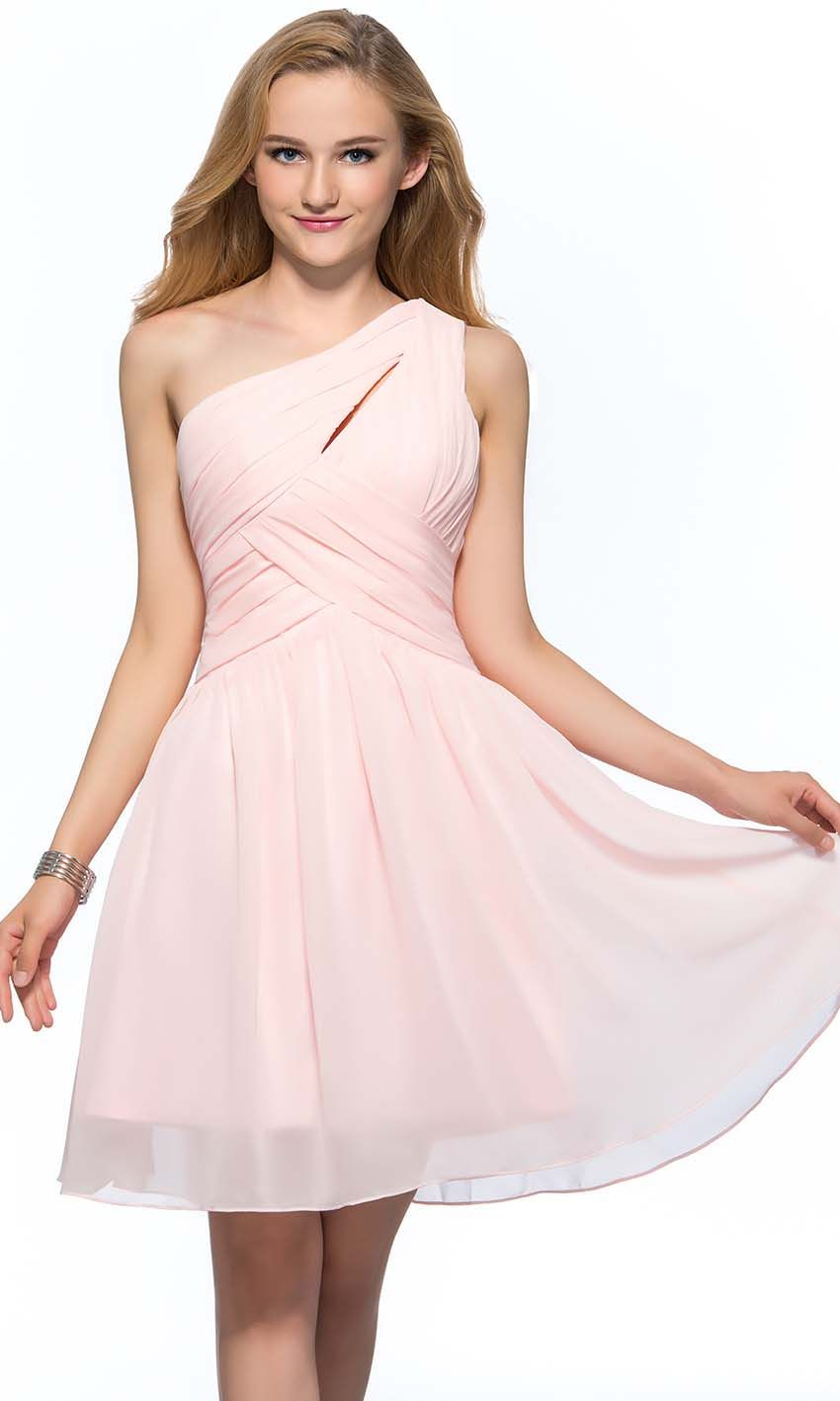 Pink keyhole one shoulder short bridesmaid dress uk ksp388 pink keyhole one shoulder short bridesmaid dress uk ksp388 ombrellifo Image collections