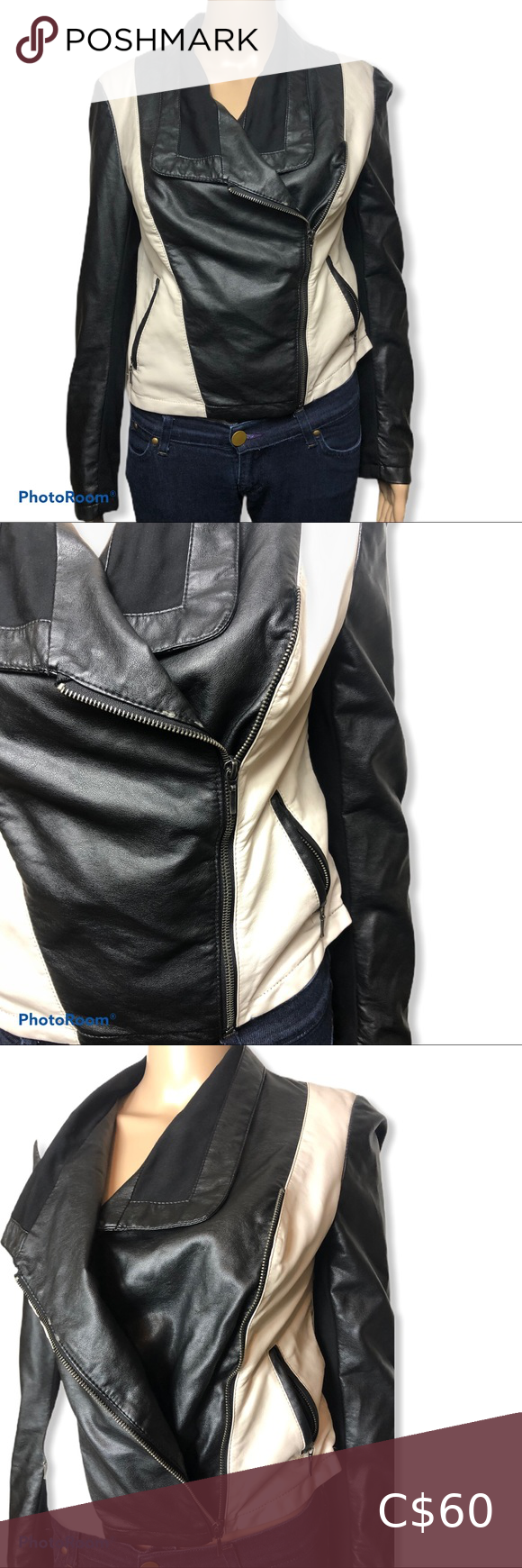 I N C International Concepts Faux Leather Jacket Mod Mini Dress Faux Leather Jackets Leather Jacket [ 1740 x 580 Pixel ]