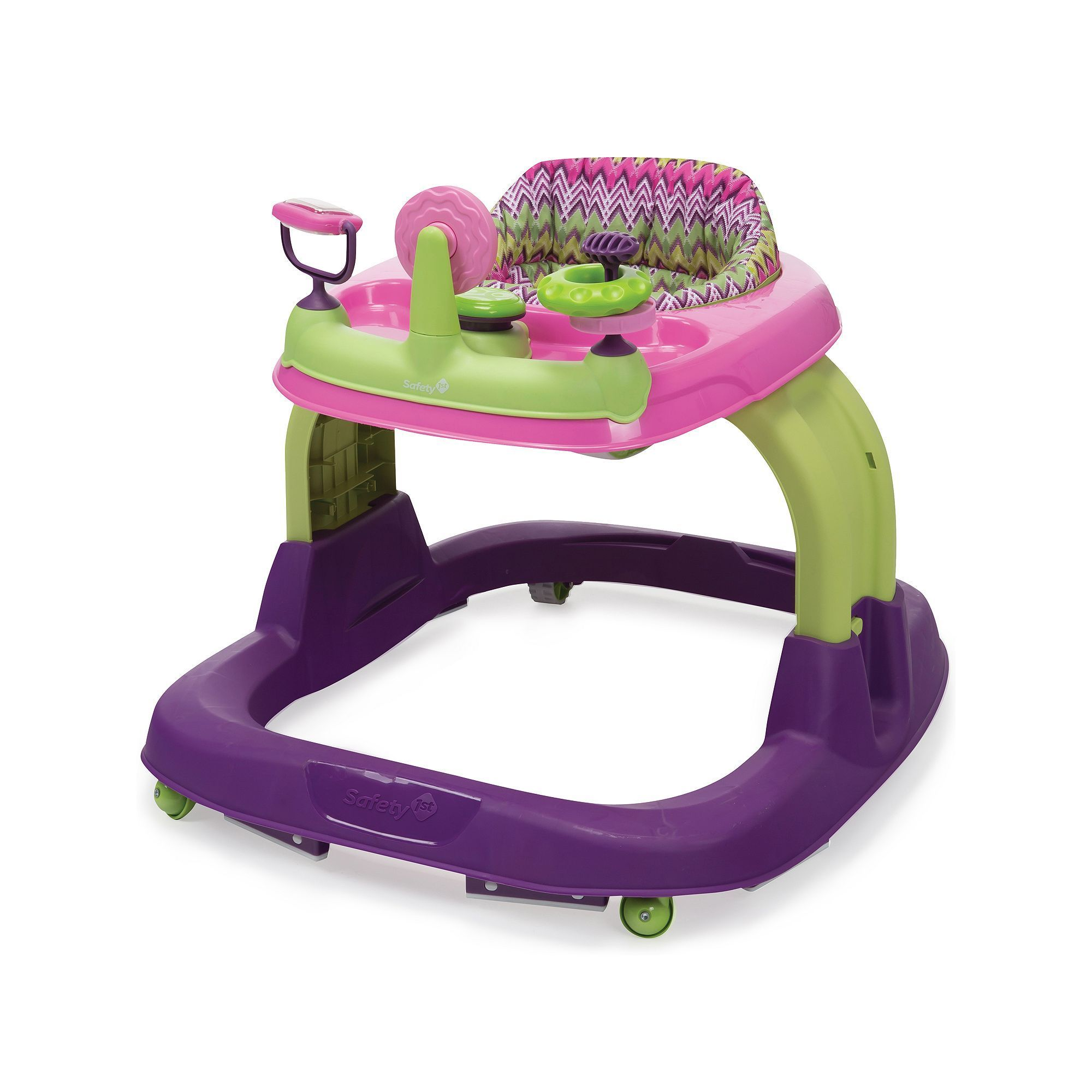 Safety 1st Ready Set Walk! Walker, Multicolor Infant