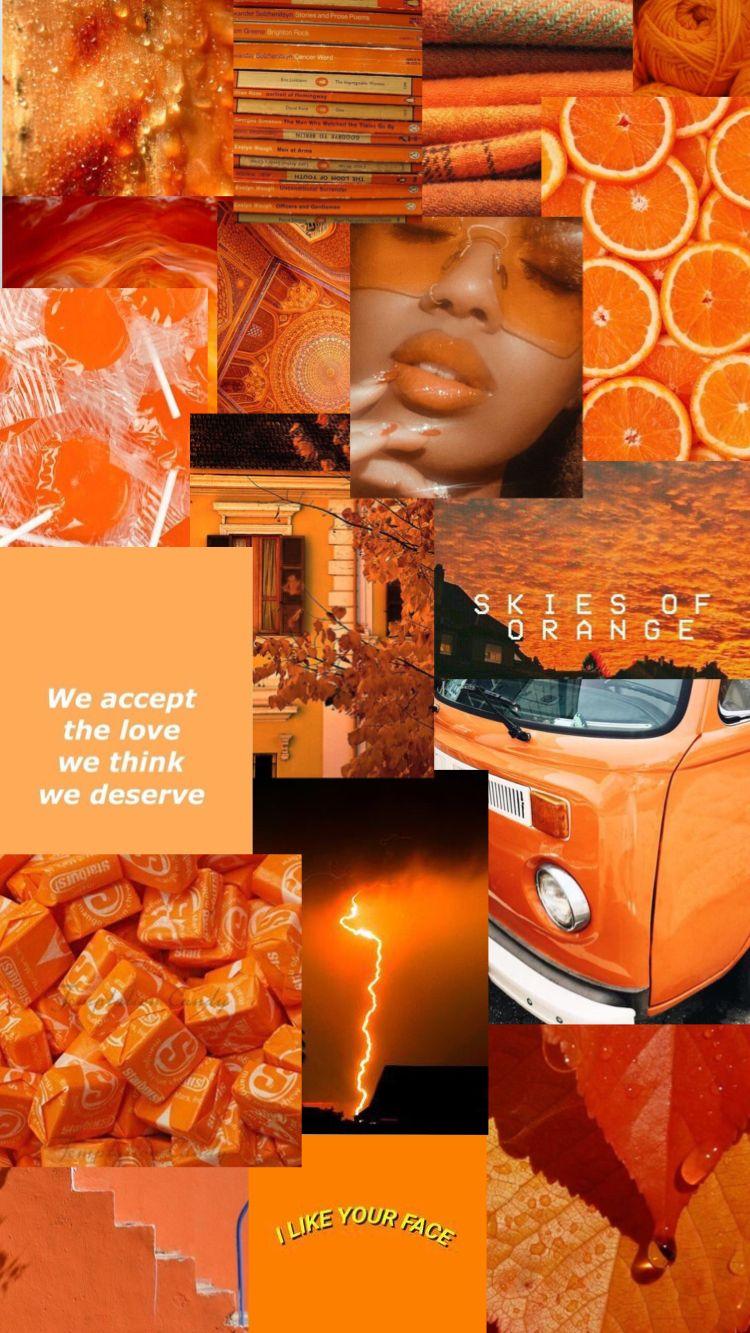 Aesthetic Orange Wallpaper Orange Wallpaper Aesthetic Pastel Wallpaper Orange Aesthetic
