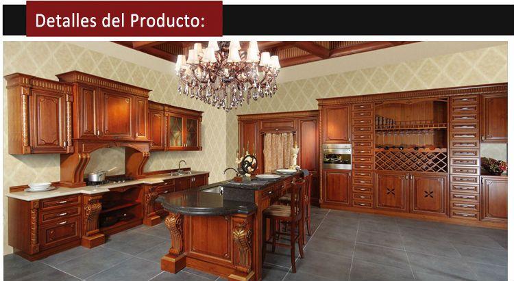 Cerezo cocina gabinetes de cocina de madera de cerezo ps for Plateros para cocinas integrales
