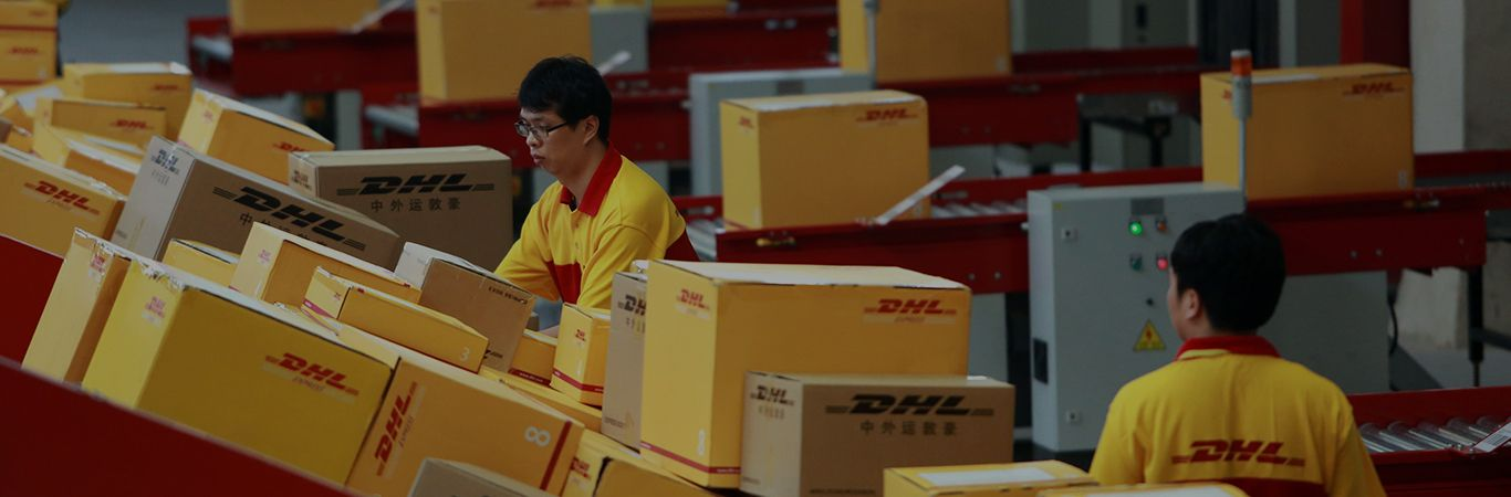 DHL is a big name when it comes to global freight forwarding by sea