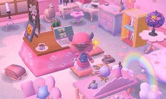 Bedroom View 2   Animal crossing on Animal Crossing Bedroom Ideas New Horizons  id=31962