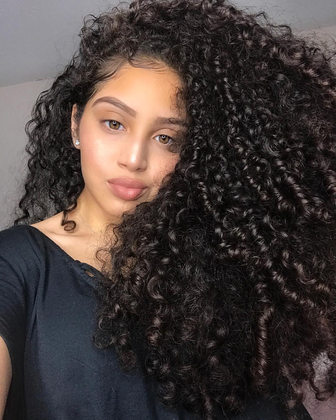Pinterest: @Kai'ahni | Curly hair styles naturally, Curly ...