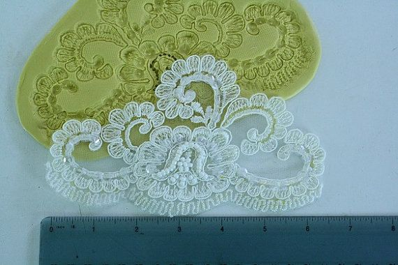 lace moulds for wedding cakes silicone large alencon lace mold medallion for cake 16689