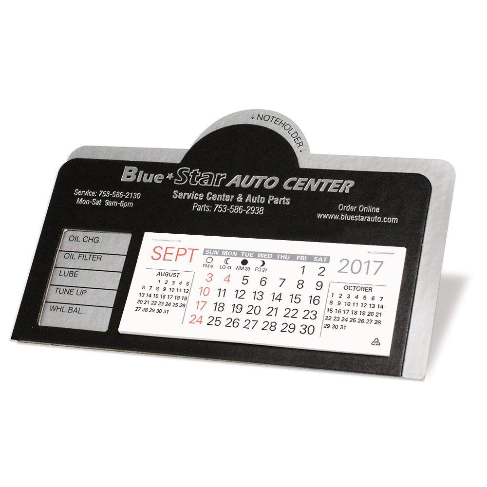 Daytona Promotional Visor Calendar