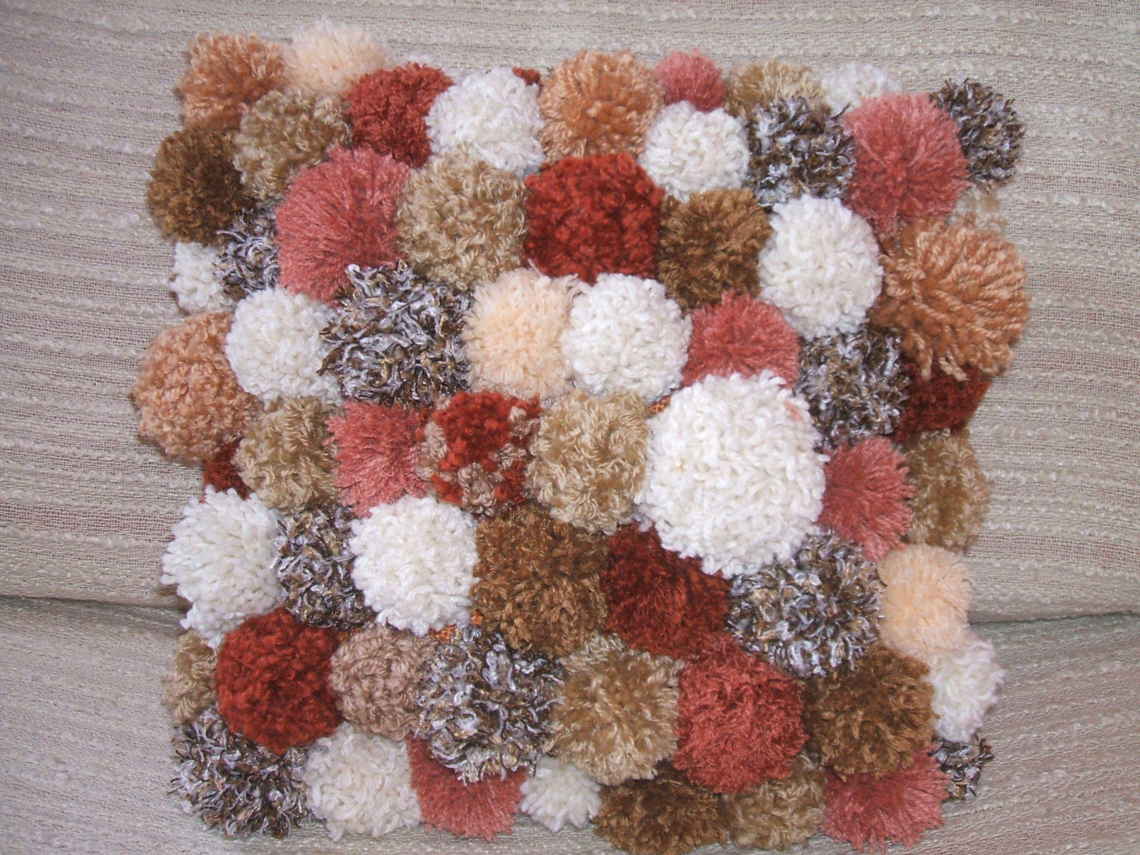 Az ősz színei maradék fonalakból