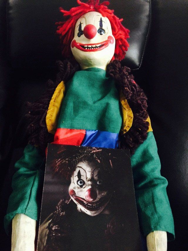 Poltergest Clown Doll In Box Of Dread May 2015 Seventh Box Geeky