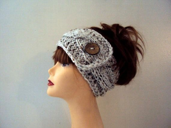 #grahamsbazaar #earwarmer #headband #knitting #oatmeal #braided #pattern #fitness #running #button #...