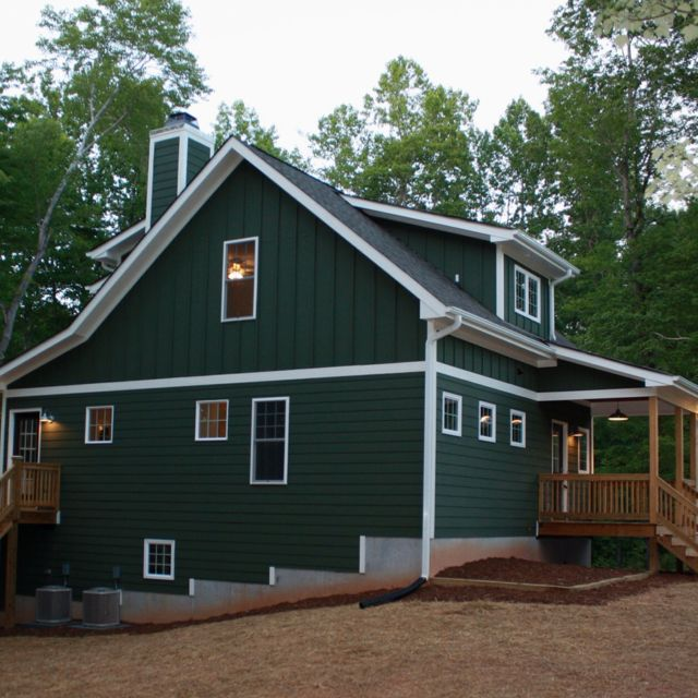 little green cottage on a lake in nc green house on lake cottage interior paint colors id=81761
