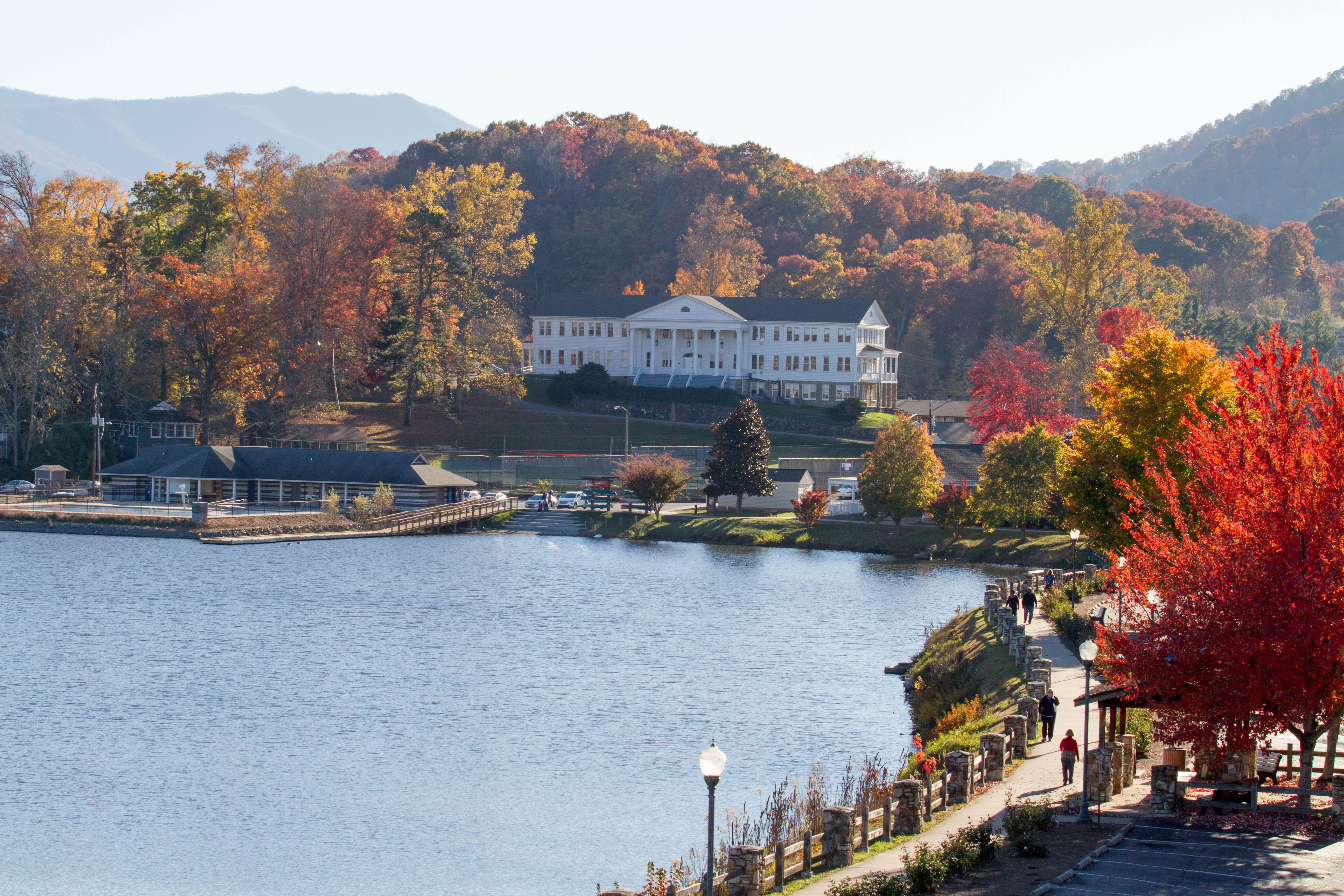 Fall at Lake Junaluska, NC