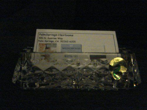 Save yousavepercent on waterford crystal westover business card save yousavepercent on waterford crystal westover business card holder new in waterford box colourmoves