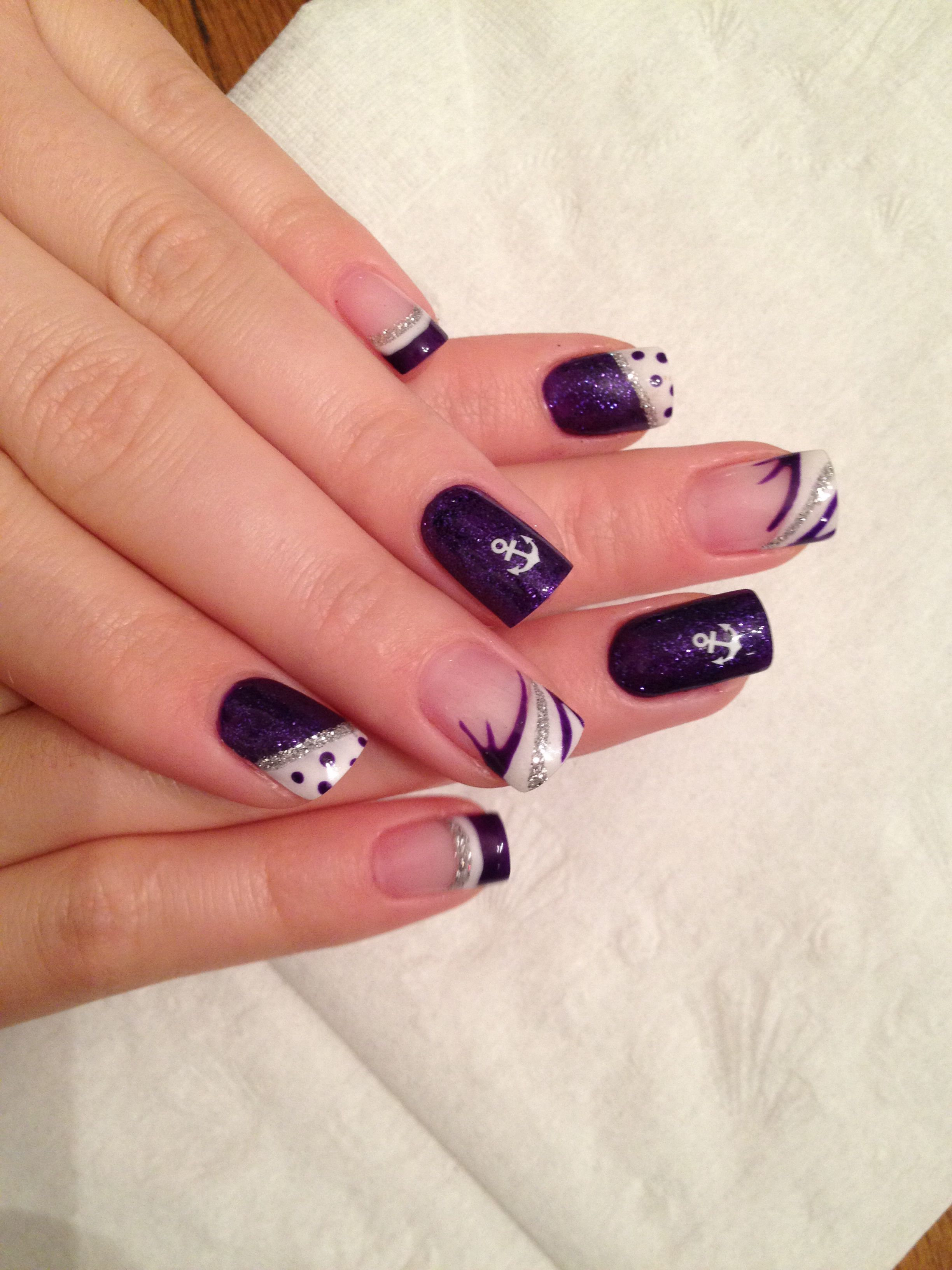 Cally\'s Design Mountain Prairie Nails Gel Nail Design | Nail Ideas ...