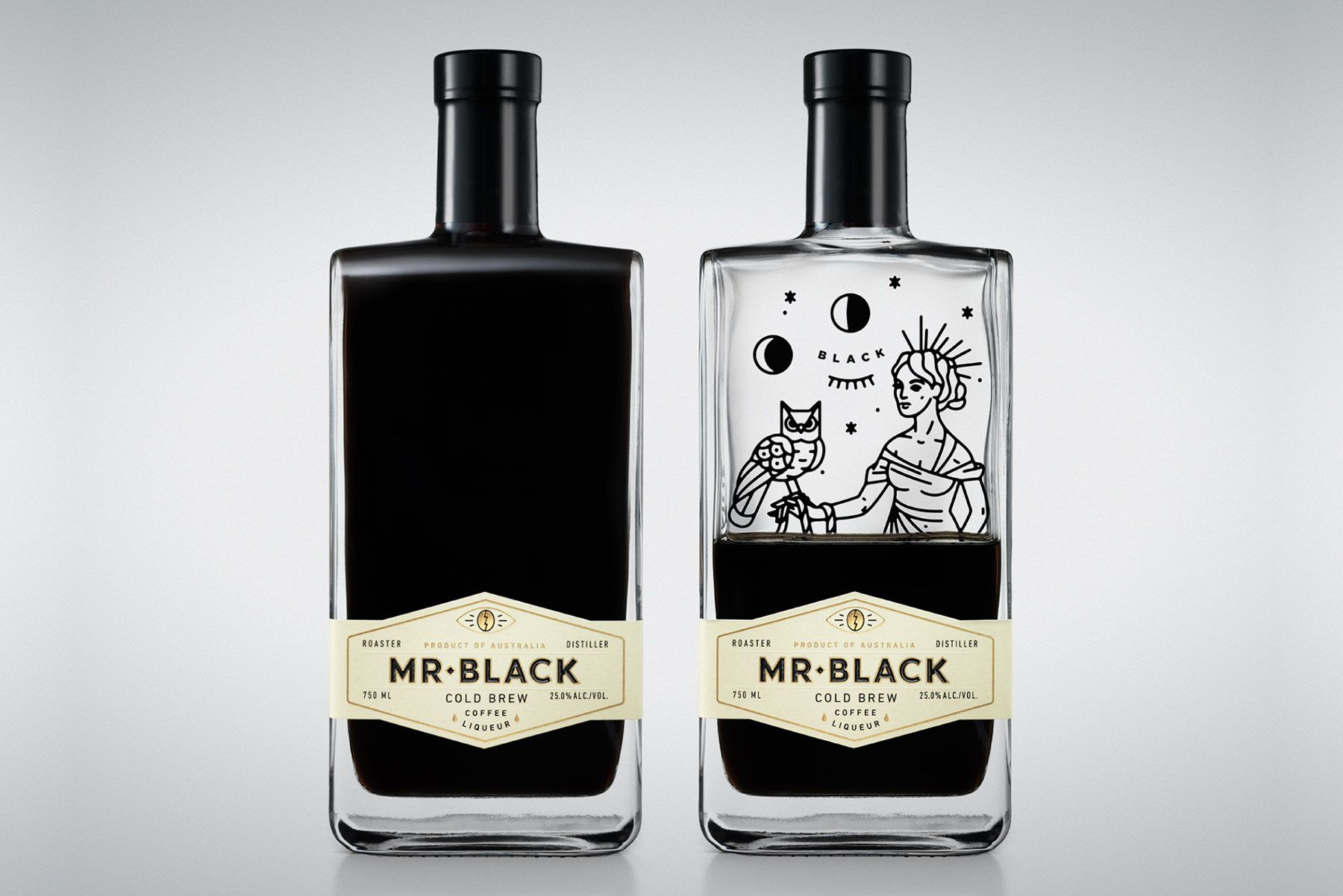 Mr. Black Cold Brew Has a Mystical Look Packaging