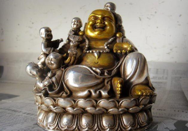 Childs Laughing Buddha Charm Happiness