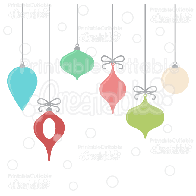 Hanging Christmas Ornaments Silhouette.Pin On Cricut