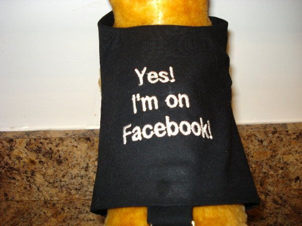 Small Dog Harness  Facebook by BlueRidgeCrafter on Etsy, $12.00