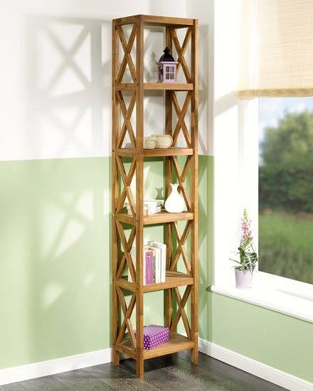 regal royal oak 6er schmal wohnung regal. Black Bedroom Furniture Sets. Home Design Ideas